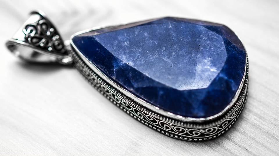 Like the expanse of the heavenly, blue sky, sapphire represents heavenly vision and the faith in all that is sacred. -- The Meaning of Sapphire