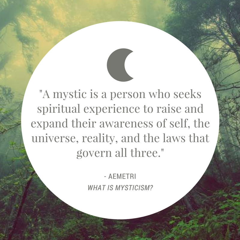 What is Mysticism? A Deeper Look into Mystical Philosophy by Aemetri from Elune Blue