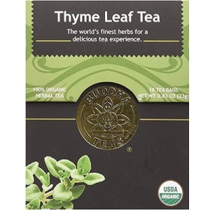 With an herb-like, soothing and savory flavor, each cup of Thyme Tea is an invitation to cleanse and purify the body, mind and soul. -- Thyme Tea