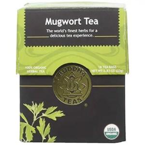 If you aren't fortunate enough to have mugwort growing in your backyard, we have the next best thing -- wonderfully enchanting mugwort tea. -- Mugwort Tea