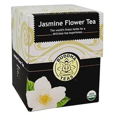 Our Jasmine Flower Tea blend only uses the jasmine flowers itself, while still providing plenty of full-bodied jasmine flavor. -- Jasmine Flower Tea
