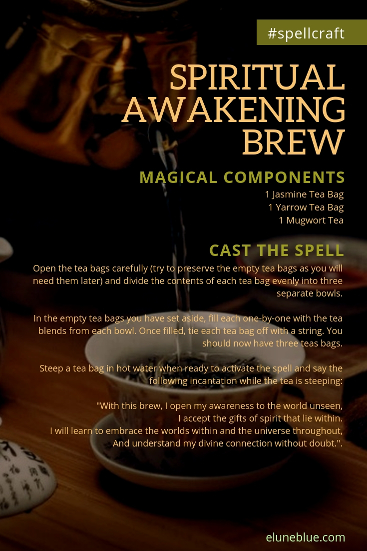 A Magical Brew: A Spell for Spiritual Awakening -- Spellcraft