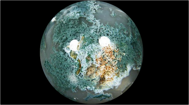 Moss Agate has become the quintessential Gardener's Stone, housing the magic of life and the beauty of nature within it. -- Moss Agate Meaning and Uses