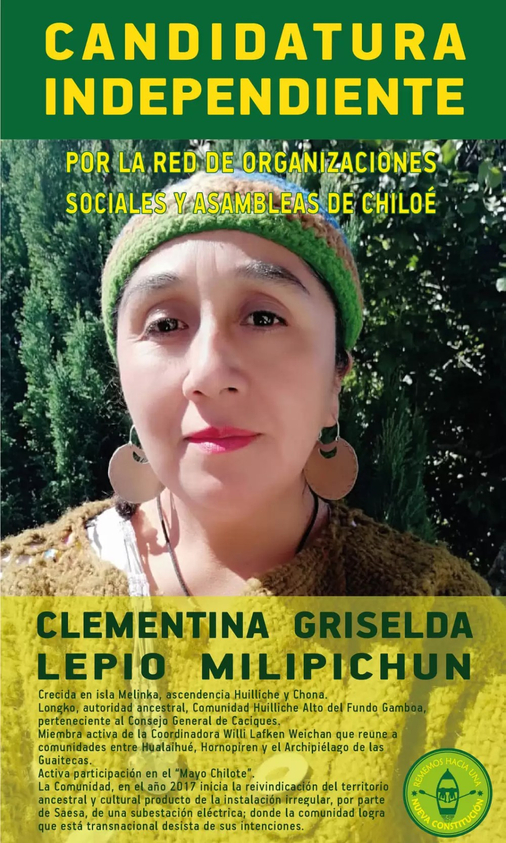 Clementina Lepío Melipichún AAc