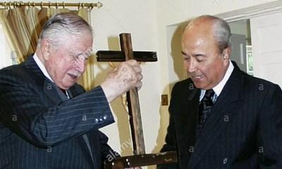 Jorge Arancibia y Augusto Pinochet 0100ABB