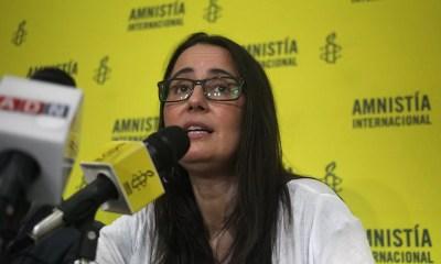 Amnistia Internacional presento informe anual del estado de los Derechos Humanos en Chile durante el 2019.
