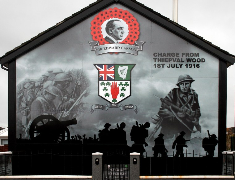 Belfast Murals Great War