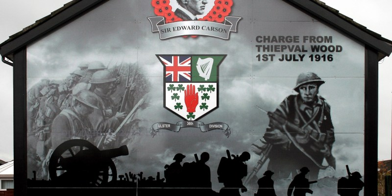 Belfast Murals Great War
