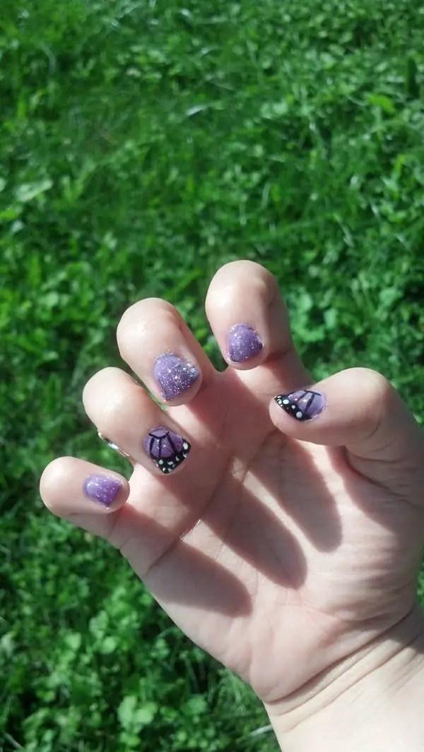 33 Súper Fresco mariposa decoración de uñas : 2018 Sugerencias - ElUtil