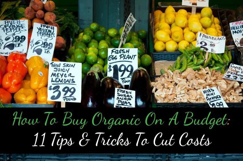 Cómo comprar productos orgánicos en un presupuesto: 11 consejos y ...