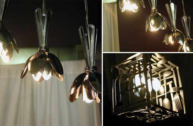 Super Cool Lamps Made From Recycled Materials