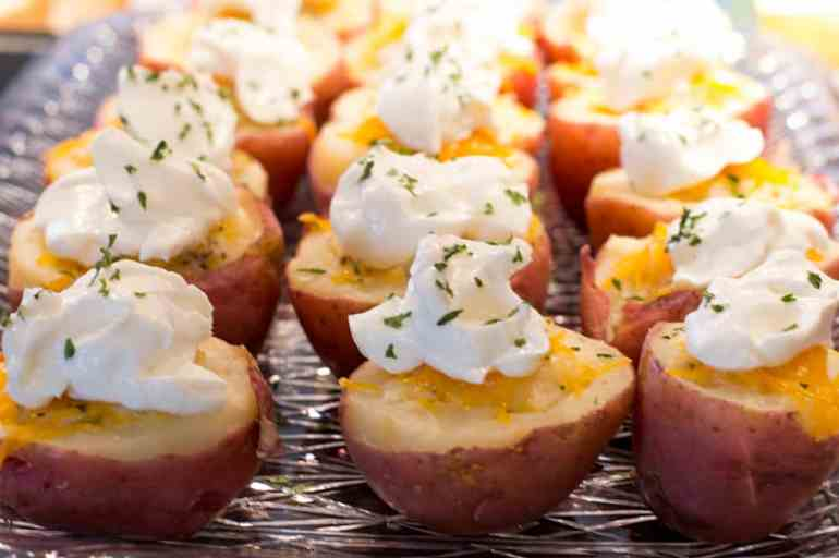 Potato Bites for St. Patrick's Day