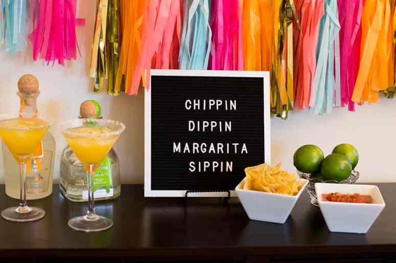 Chippin, Dippin, and Margarita Sippin Fiesta