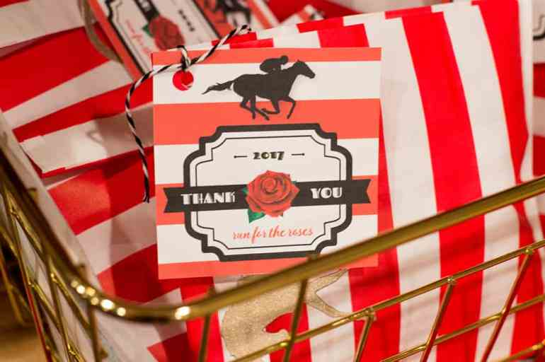Kentucky Derby Party Favor Tag   Free download (now updated to be used any year!) at Elvamdesign.com