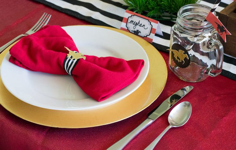 Kentucky Derby Place Setting