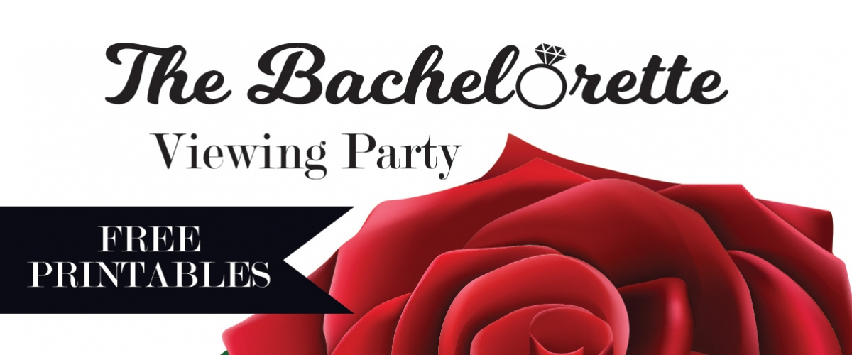The Bachelorette Free Printables