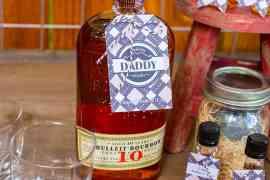 Dashing Daddy Drinks Tag