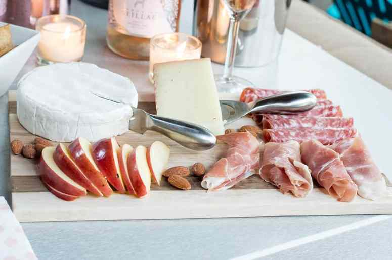 Charcuterie Tray for the Rosé Kind of Day Gathering