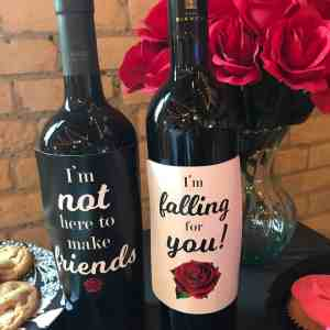 The Bachelorette Wine Labels