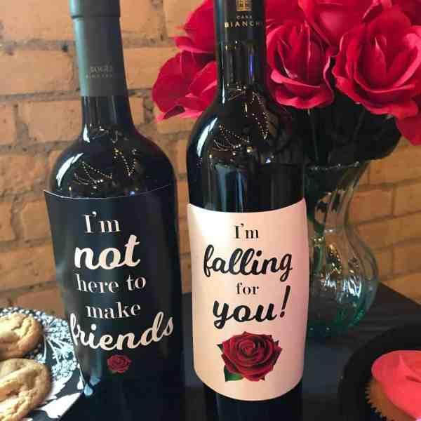 The Bachelorette Wine Labels