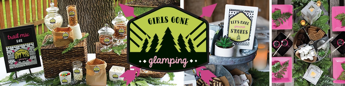 Girl Gone Glamping Party