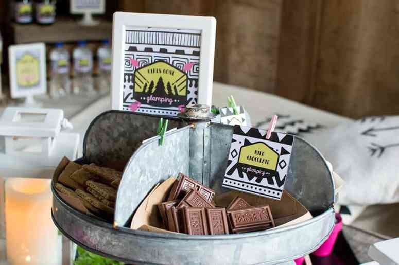 Girls Gone Glamping Gourmet S'mores