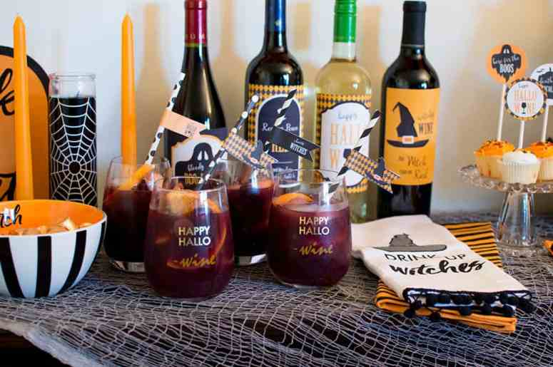Ghouls Night Sangria from Elva M Design Studio