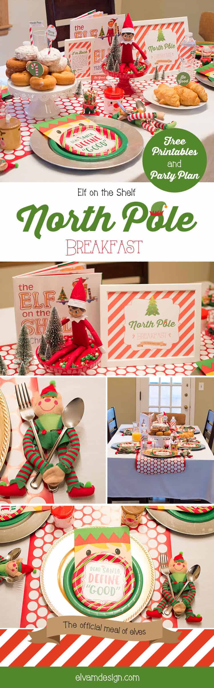 Elf on the Shelf North Pole Breakfast Party