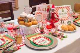 Welcome back Elf on the Shelf North Pole Breakfast by Elva M Design Studio