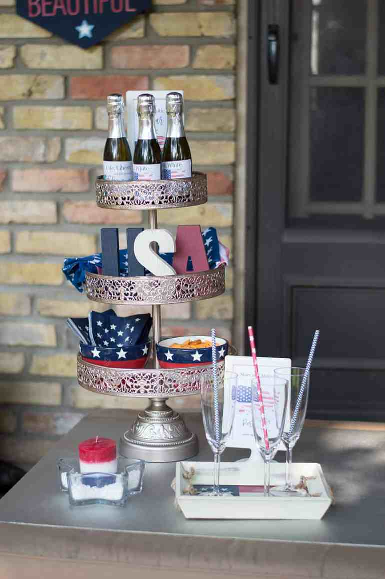 4th of July Patriotic Happy Hour by Elva M Design Studio