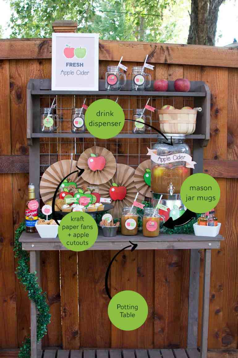 Grab these Fall Apple Cider Bar products to complete the look of this Fall Apple Cider Bar