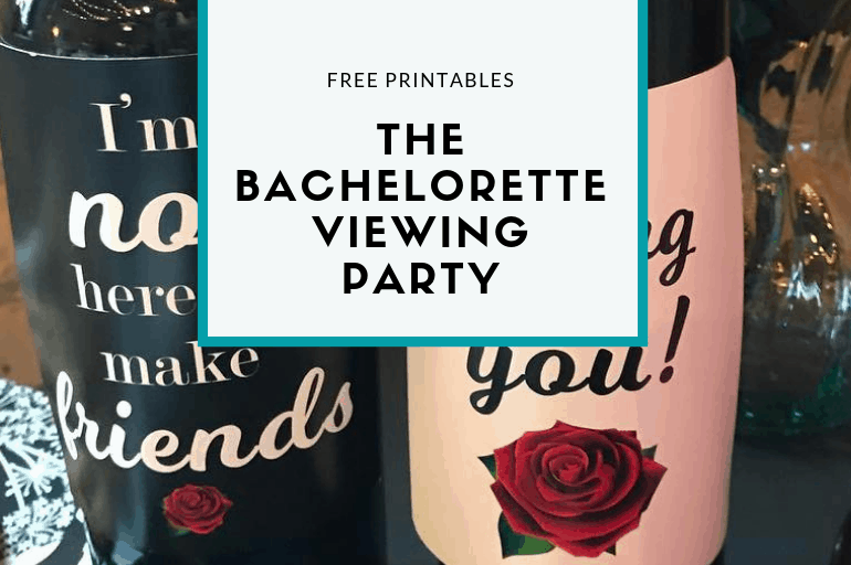 The Bachelorette (or The Bachelor) Viewing Party Printables