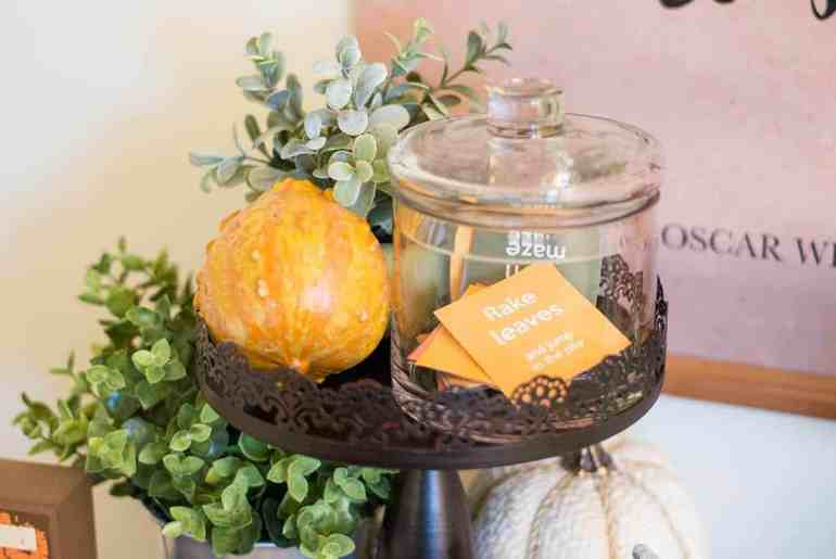 Fall Family Bucket List Printable Craft