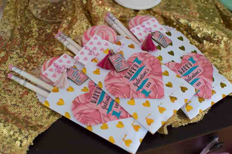 Girl Gang Galentine's Day Favors. Find out everything you need to recreate this look from Elva M Design Studio.