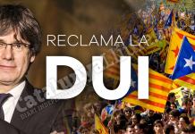 Envia un correu a Puigdemont exigint una DUI