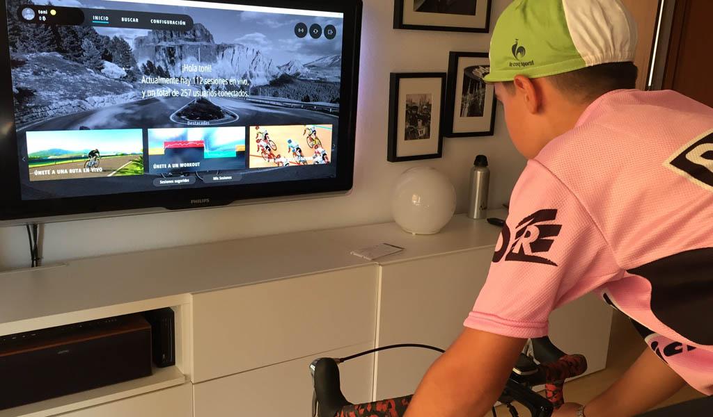 Bkool Pro ciclismo