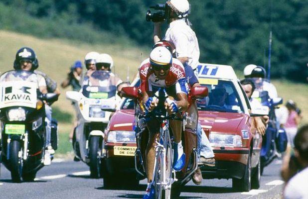 Miguel Indurain Bergerac velodromo