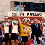 La Vuelta a Murcia descubrió a Perico Delgado