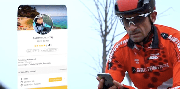 Twinapp Cycling JoanSeguidor