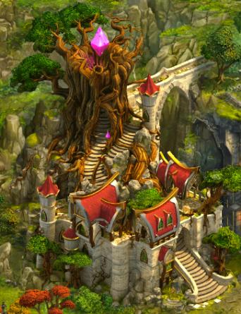 Crystal Lighthouse Cliffside 1