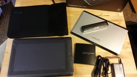 Cintiq Companion out of box