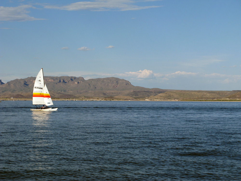 Elephant Butte Lake & State Park.