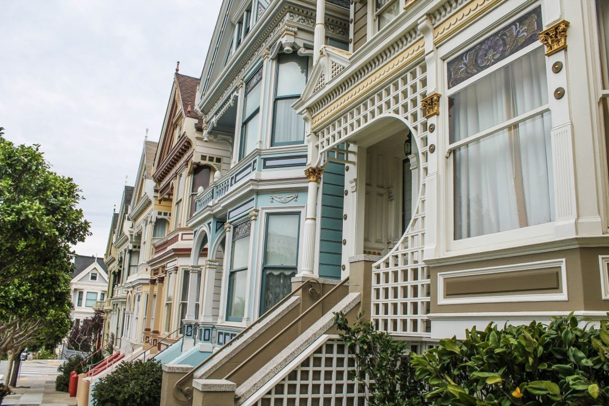 Painted Ladies - Alamo Square-4
