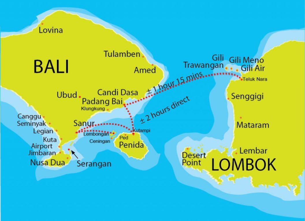 Guía de viaje a las islas Gili