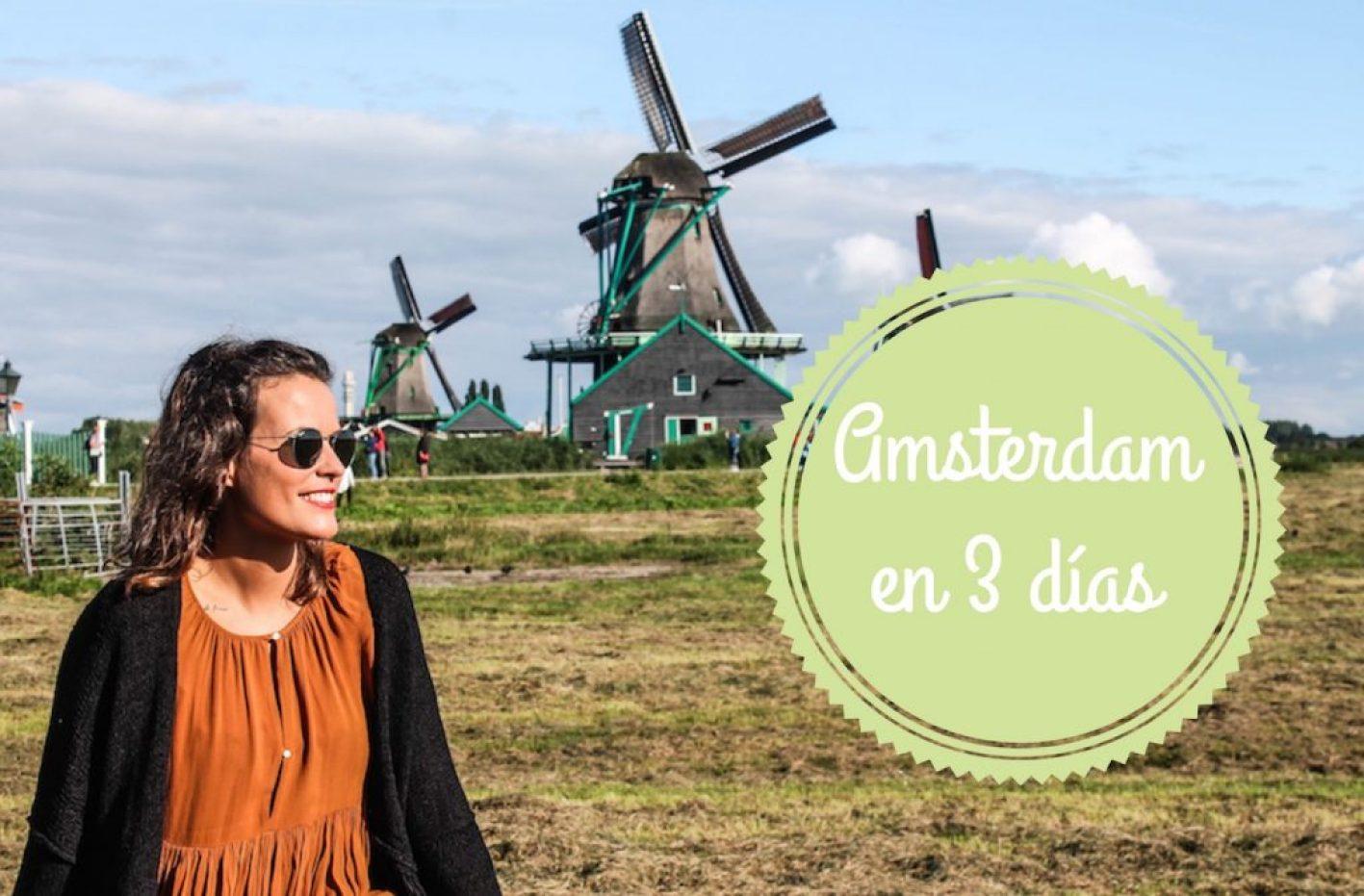 Amsterdam en 3 días