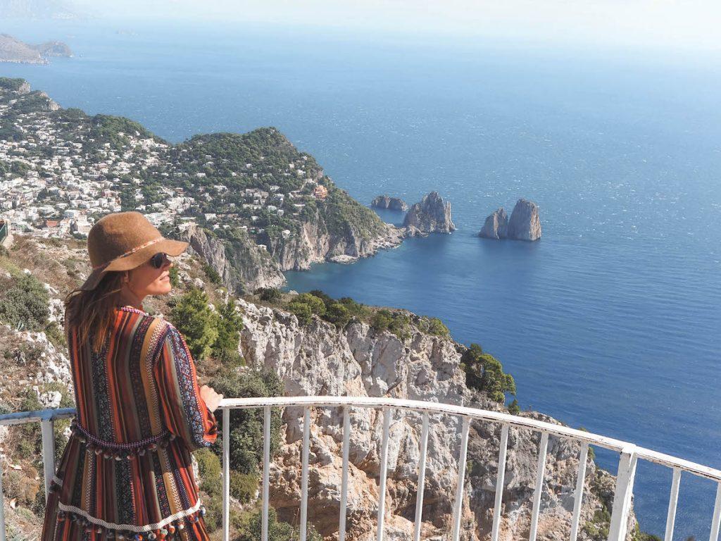 Preparativos de viaje a Capri en dos días