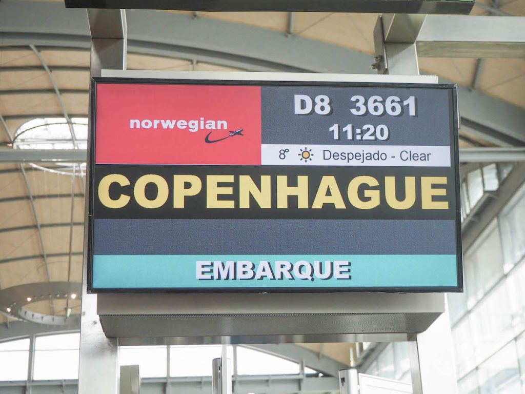 Vuelo a Copenhague