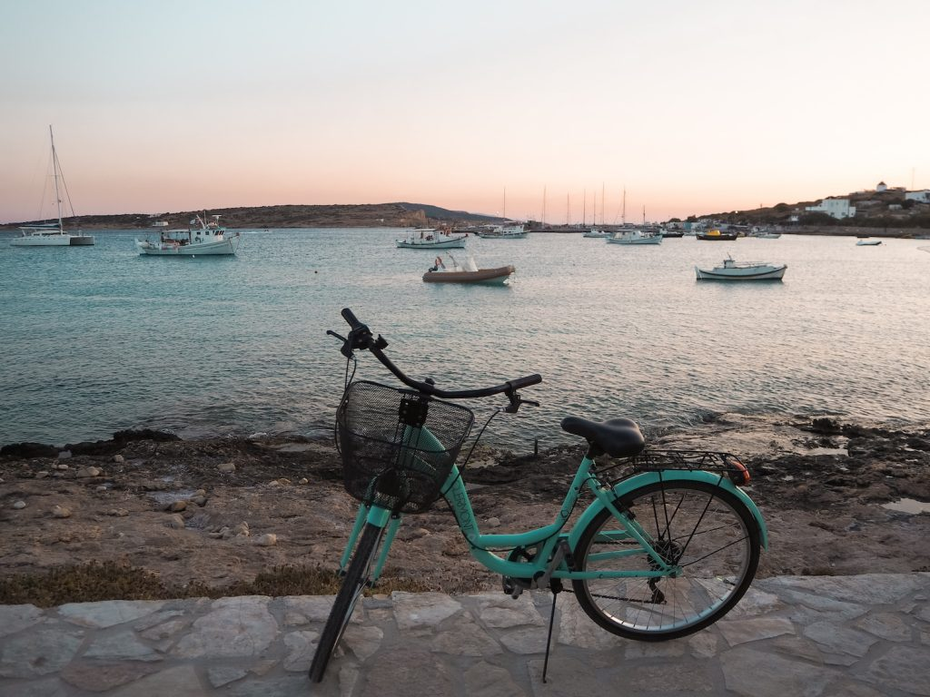 Bicicleta en Koufonisia