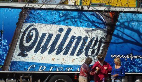 Quilmes, en El Caminito