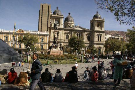 catedral metropolitana, plaza Murillo